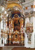 1 AK Germany Bayern * Abteikanzel Und Chor In Der Wieskirche Bei Steingaden - Seit 1983 UNESCO Weltkulturerbe * - Germania