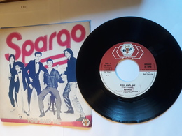 Spargo  -  1980.  Baby Records -  You And Me - Disco, Pop