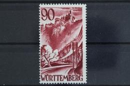 FZ Württemberg, MiNr. 37, Neugummi / Regummed - Zone Française