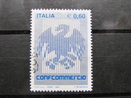 *ITALIA* USATI 2005 - CONFCOMMERCIO - SASSONE 2820 - LUSSO/FIOR DI STAMPA - 6. 1946-.. Repubblica
