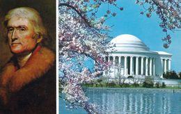 1 AK USA * Jefferson Memorial In Washington, D.C. - Zu Ehren Des Dritten Präsidenten Der USA, Thomas Jefferson Erbaut * - Washington DC