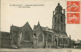 CPA - BATZ - EGLISE SAINT-GUENOLE - COTE NORD (IMPECCABLE) - Batz-sur-Mer (Bourg De B.)