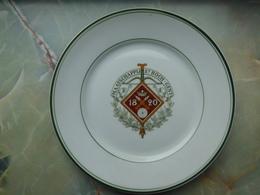 ARBALETRIERS - Assiette Maatschappij St ROCH - GENT (GAND) - Autres Collections