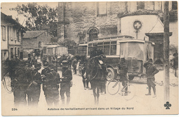 Croquis De Guerre 1915 - Autobus De Ravitaillement - WW1 - Zonder Classificatie