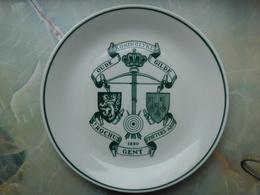 ARBALETRIERS - Assiette ST ROCHUS GENT (GAND) - Autres Collections