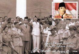 1 AK Indonesien * Soekarno Der Erste Präsident Der Republik Indonesien - Wird Auch Sukarno Oder Bung Karno Genannt - Personnages