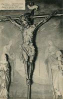 CPA - MONTLOUIS - INTERIEUR DE L'EGLISE - CHRIST EN BOIS  (IMPECCABLE) - France