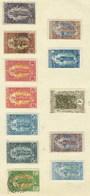 Congo Français, N° 33 - 34 - 35 - 36 - 37 - 39 - 55 - 57 - 60 - 61 Charnière Ou Oblitéré TB Forte Côte - Congo Français (1891-1960)