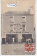 LAVAL :Devanture LEMOUSSU - BOURBON Serrurier - Sonnettes Electriques ! - Superbe Carte éditée Ss  Légende - Commerce - - Laval