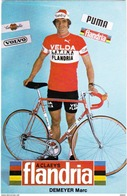 Demeyer Marc (flandria) , Lot Pk 4 - Ciclismo