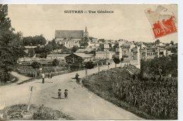 549. CPA 33 GUITRES. VUE GENERALE 1916 - France