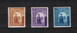 1941 - Prince Duca  Mi No 703/705  MNH - 1918-1948 Ferdinand, Carol II. & Mihai I.