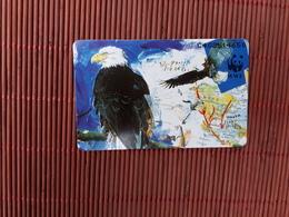 Phonecard Private Bird WWF (Mint,Neuve) 2 Scans Very Rare - Oiseaux