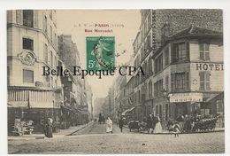 75 - PARIS 18 -- #5 -- Rue Marcadet +++ E. V. / EV +++ 1908 +++ RARE - Arrondissement: 18