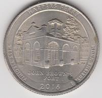 @Y@   United States Of America  Quarter Dollar   2016     (3021  ) - Émissions Fédérales
