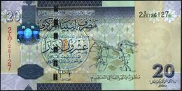 LIBYA - Libia  20 Dinars Nd.(2009) AU-UNC P.74 - Libye