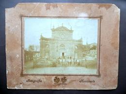 Grande Fotografia Torino Chiesa Primo '900 Animata Fotografia Nazionale - Foto