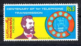 Pakistan - 1976. Bell E Telefono. Bell And Telephone. MNH - Telecom