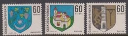 Czechoslovakia Scott 1886-1888 1973 Coat Of Arms, Mint Never Hinged - Czechoslovakia