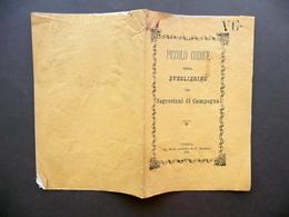 Piccolo Codice Ossia Sveglierino Pei Sagrestani Di Campagna Merlo Verona 1881 - Vecchi Documenti