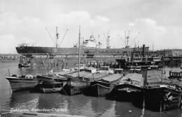 Rotterdam  Nederland  Rotterdam-Charlois Dokhaven Schip Boot   Fotokaart     X 4131 - Rotterdam