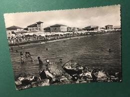Cartolina Cecina Mare - Spiaggia E Scogli - 1953 - Pisa