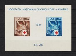 1941 - CROIX - ROUGE  Mi No Block 16  MNH - 1918-1948 Ferdinand, Carol II. & Mihai I.