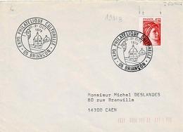 TP N° 1981B  Seul Sur  Enveloppe  De L'Expo Philatélique De Briançon - 1961-....