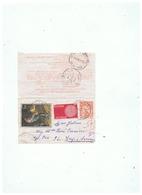PNEUMATIQUE OBLITERATION TARDIVE ENTIER POSTAL 1 F 60 TYPE CHAPLAIN N°2618 - Postmark Collection (Covers)