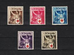 1941 - CROIX - ROUGE  Mi No 696/700   MNH - 1918-1948 Ferdinand, Carol II. & Mihai I.