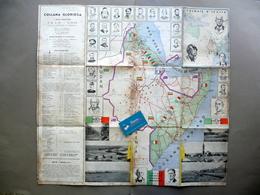 Carta Africa Orientale Collana Gloriosa Esploratori Pionieri Opere Colonie 1935 - Autres Collections