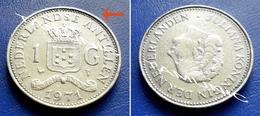 NETHERLAND ANTILLES 1 Gulden 1971 JULIANA KONINGIN - Netherland Antilles