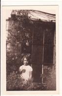 PHOTO Orig.-ETAT-UNIS D'AMERIQUE-CONNECTICUT-KILLINGWORTH-Fillette Yolande ETE 1934 -Juillet 1934- 2scans TBE - Etats-Unis
