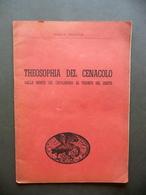 Carlo Gentile Theosophia Del Cenacolo Mondovì 1952 Autografo Dedica - Non Classificati