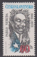 Czechoslovakia Scott 1918 1974 Pablo Nerudat, Mint Never Hinged - Czechoslovakia