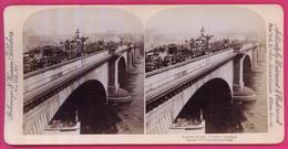 ROYAUME-UNI - 031  - Le Pont De LONDRES - Stereoscopio