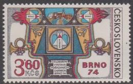 Czechoslovakia Scott 1920 1974 National Stamp Exhibition, Mint Never Hinged - Czechoslovakia