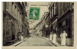 Lormes: Grande Rue, Boucherie, Beau Plan, Belle Animation - Lormes