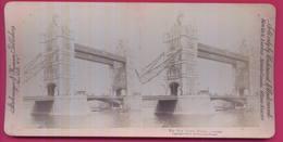 ROYAUME-UNI 027  Le Pont De La Tour à LONDRES - Stereoscopio
