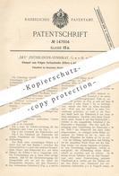 Original Patent - Dey Zeitregister Syndikat GmbH , Berlin , 1902 , Stempel Zum Prägen Von Zahlen O. Buchstaben Auf Blech - Historische Dokumente