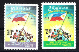 Filippine - 1977. Sbandieratori. Wavers. Complete MNH Set - Francobolli