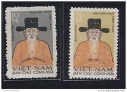 North Vietnam Viet Nam MNH Perf Stamps  1962 : Nguyen Trai - National Hero / Costume (Ms115) - Viêt-Nam