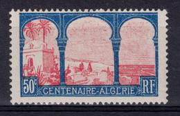 """VARITÉ Sur TIMBRE ALGÉRIE N° 263 : """" LEGENDE AVEC E De ALGÉRIE BRISÉ """" - NEUF * TTB - Unused Stamps"""