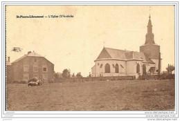 SAINT - PIERRE ..-- LIBRAMONT ..-- Eglise . Vers SCHAERBEEK ( Mr Mme CUVELIER ) . Voir Verso . - Libramont-Chevigny