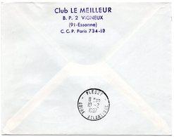 LOIRE ATLANTIQUE - Dépt N° 44 = PLESSE 1967 = RETOUR ENVOYEUR Sur Préo N° 124 + Cachet A8 - Manual Postmarks