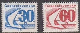 Czechoslovakia Scott 1976-1977 1975 Coil Stamps, Mint Never Hinged - Czechoslovakia