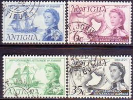 ANTIGUA 1967 SG #208-11 Compl.set Used Barbuda Settlement - Antigua & Barbuda (...-1981)