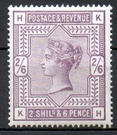 GRANDE BRETAGNE - 1883-84 - N° 86 - 2 S. 6 D. Violet - (Victoria) - Ungebraucht