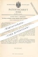 Original Patent - Rudolf Fritz , Heidelberg , 1885 , Abdichten Verrohrter Bohrlöcher | Rohr | Dichtung , Bergbau !! - Historische Dokumente