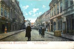 Serbie - Belgrade - Rue Prince Michel - Serbie